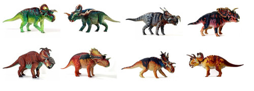 Ceratopsian Collection (Wave 2) by Beasts of the Mesozoic