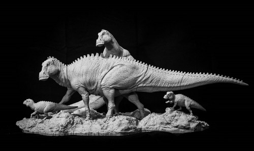 Edmontosaurus Resin Kit by Passion Charger