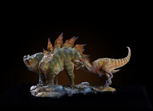 Ceratosaurus vs Stegosaurus Resin Kit by Musee Studio