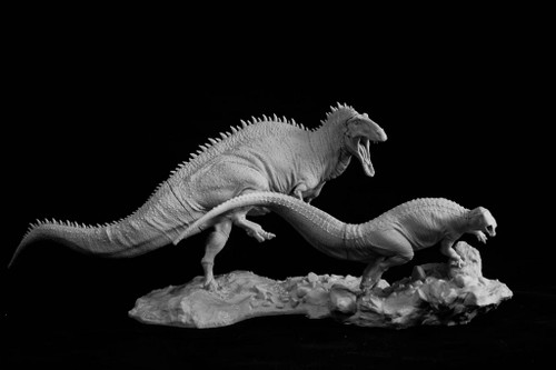 Acrocanthosaurus vs Tenontosaurus Resin Kit by Passion Charger