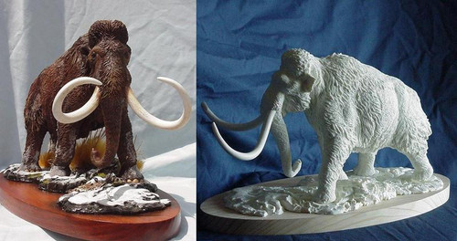 Woolly Mammoth Resin Kit by Paleocraft