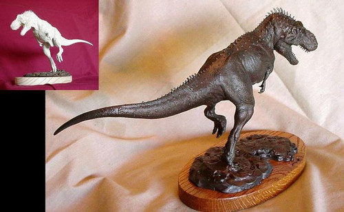 Tyrannosaurus Running Resin Kit by Paleocraft