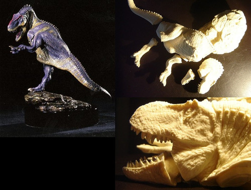 Tyrannosaurus Resin Kit by Michael Trcic