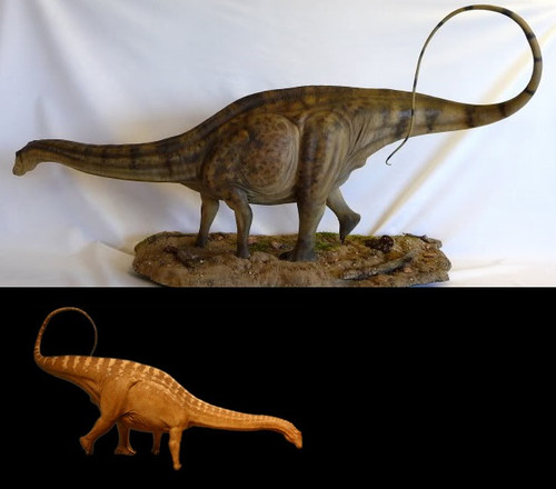 Apatosaurus 1:15 Resin Kit by Foulkes