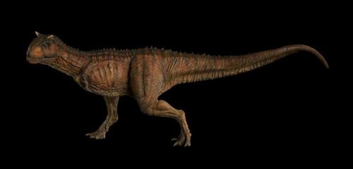 Carnotaurus (Red) by Nanmu