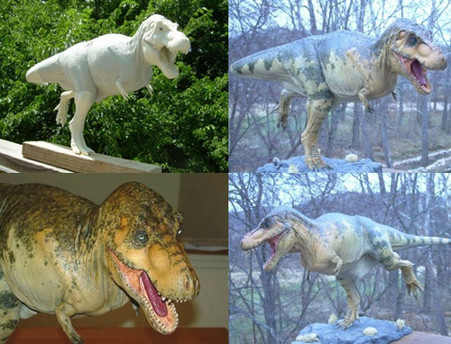 Tyrannosaurus 1:15 Resin Kit by Foulkes
