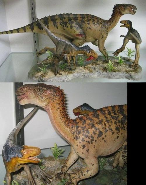 Eotyrannus vs. Iguanodon Resin Kit by Foulkes