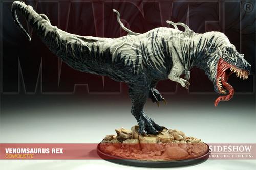 Venomsaurus Maquette by Sideshow