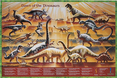 Dawn of the Dinosaurs Poster