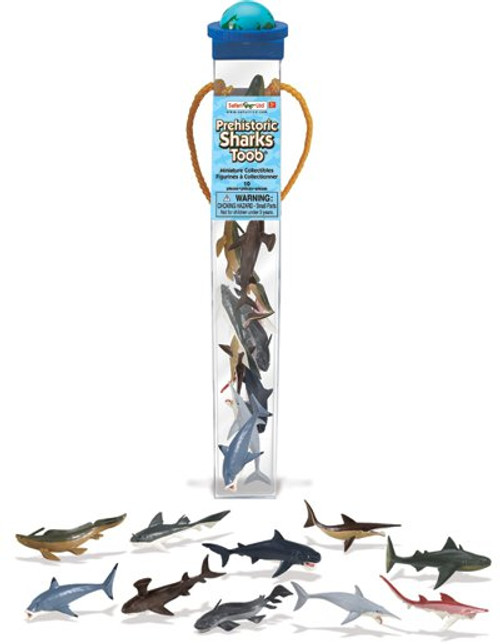 Prehistoric Sharks Toob by Safari