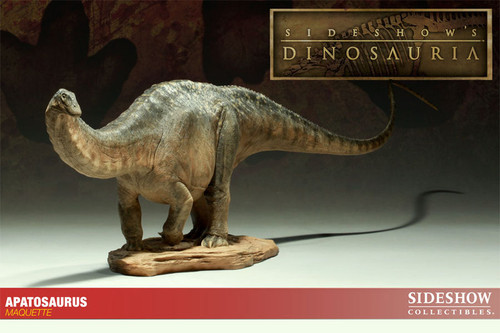 Apatosaurus Maquette by Sideshow
