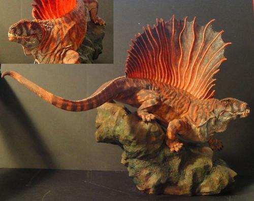 Dimetrodon Resin Kit by Creativebeast