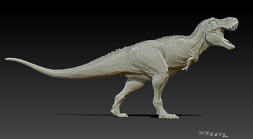 "Tyrannosaurus ""Saurozoic Collection"" Resin Kit by Krentz"