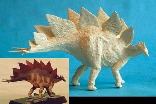 Stegosaurus 1:35 Resin Kit by Dan LoRusso