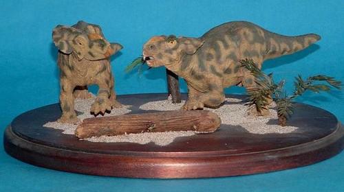 Pachyrhinosaurus Juveniles 1:10 Resin Kit by Dan LoRusso