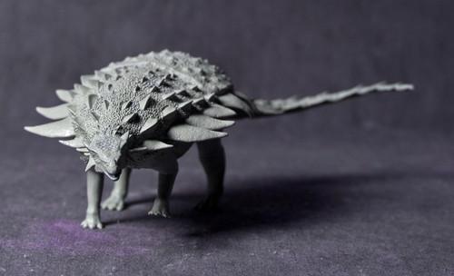 Gargoyleosaurus Resin Kit by Dan's Dinosaurs