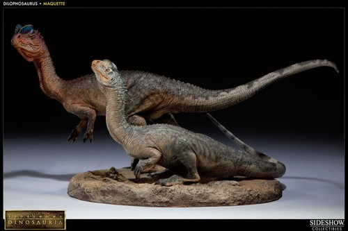 Dilophosaurus Maquette by Sideshow