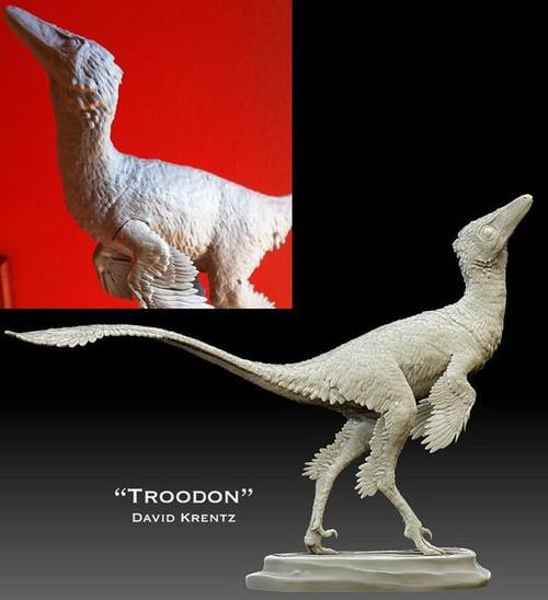 Troodon Resin Kit by Krentz