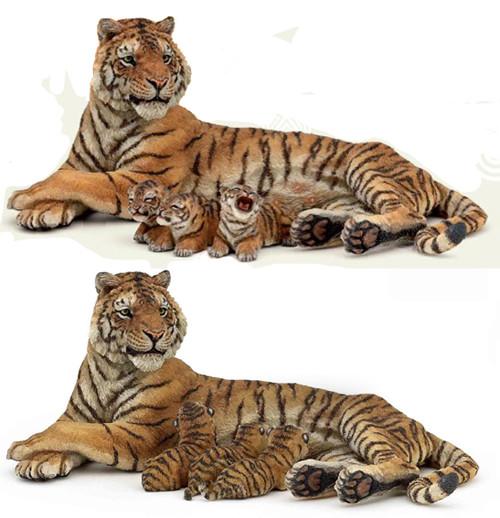 Lying Tigress Nursing by Papo