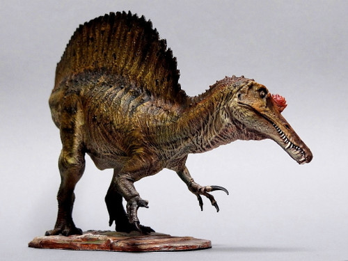 """Spinosaurus """"Saurozoic Collection"""" Finished Model by Krentz"""