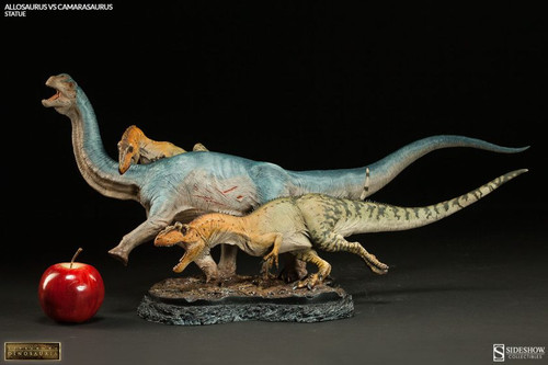 Allosaurus vs. Camarasaurus by Sideshow (2015 Version)