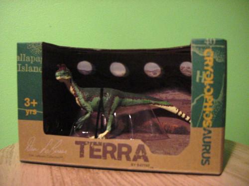 Cryolophosaurus by Battat Terra