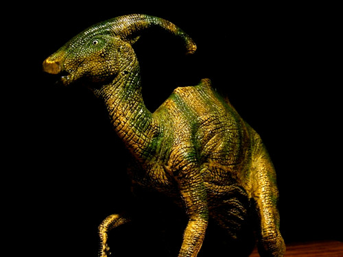 Parasaurolophus by Papo