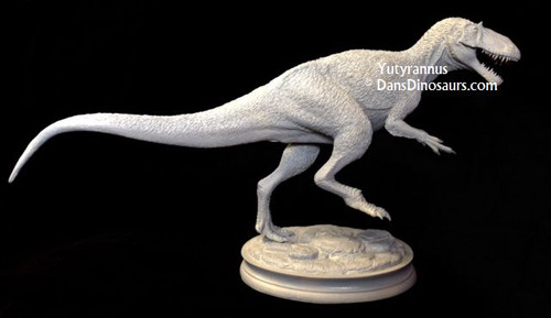 Yutyrannus Resin Kit by Dan's Dinosaurs