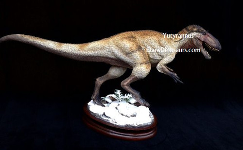 Yutyrannus Finished Model by Dan's Dinosaurs