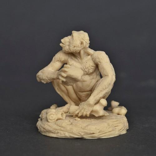 Australopithecus Sitting Resin Kit by Klatt