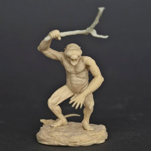 Australopithecus Running Resin Kit by Klatt