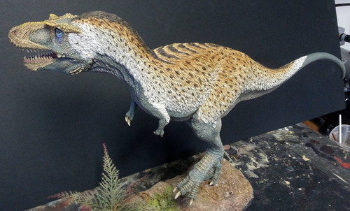 Albertosaurus libratus Resin Kit by Foulkes