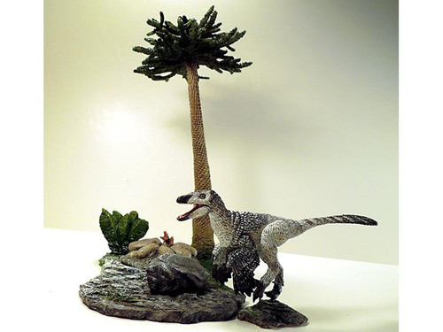 Troodon in Mountains by Beasts of the Mesozoic