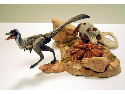 Mononykus in Desert by Beasts of the Mesozoic
