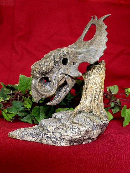 Pachyrhinosaurus Skull Resin Kit by BR Sculptures