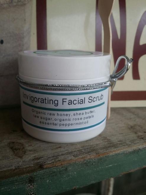 Honey Rose Facial Scrub 4 oz