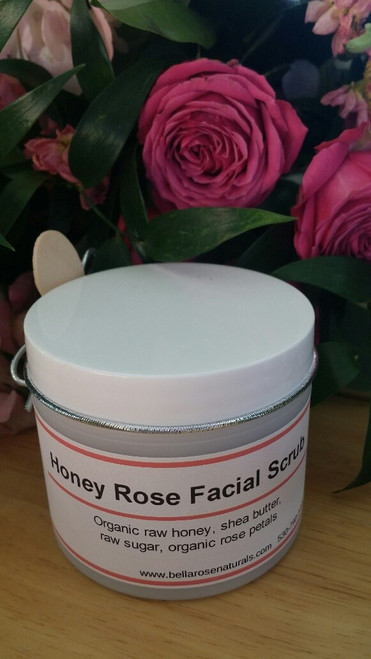 Honey Rose Facial Scrub 4 oz