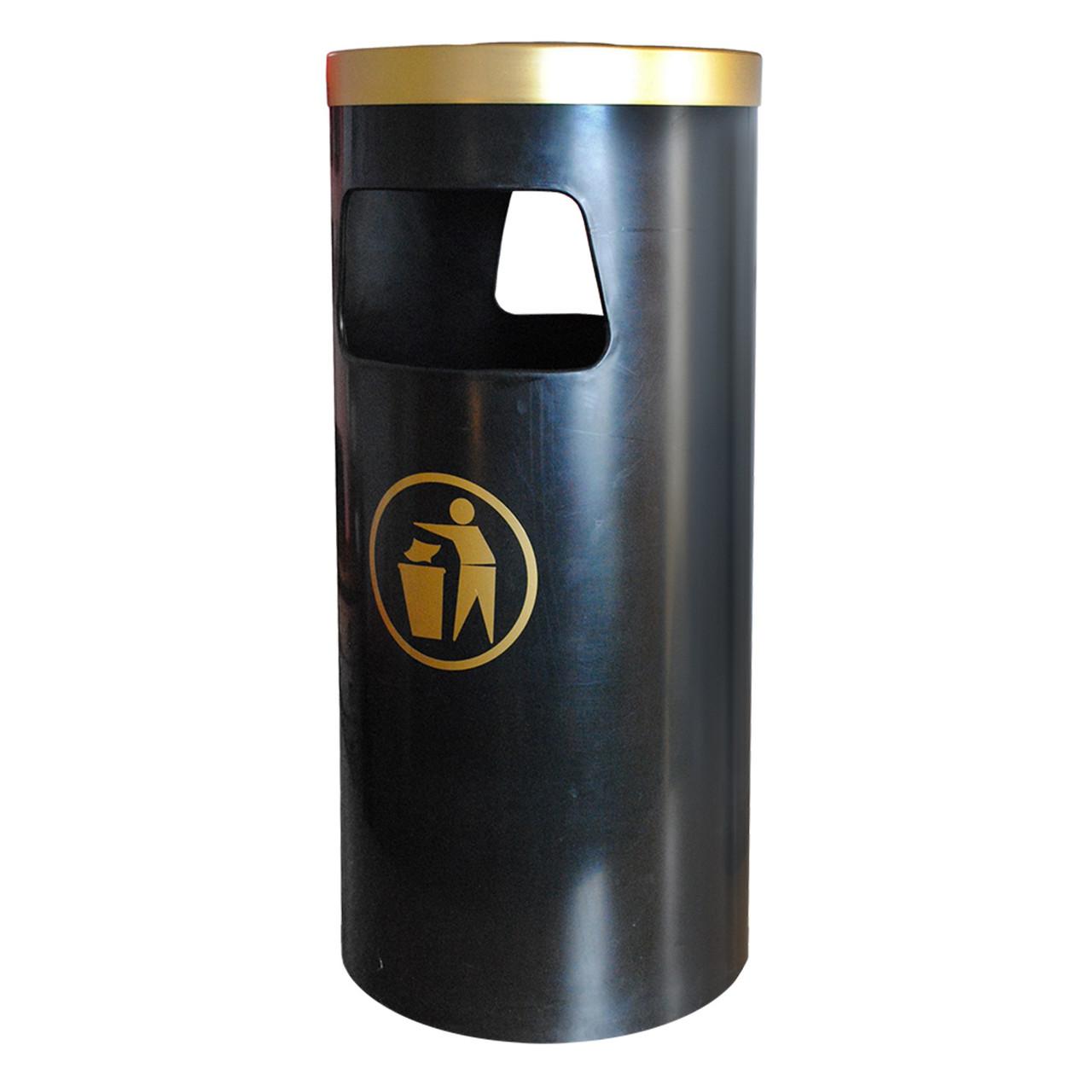 Byron 40 litre floor mounted litter bin