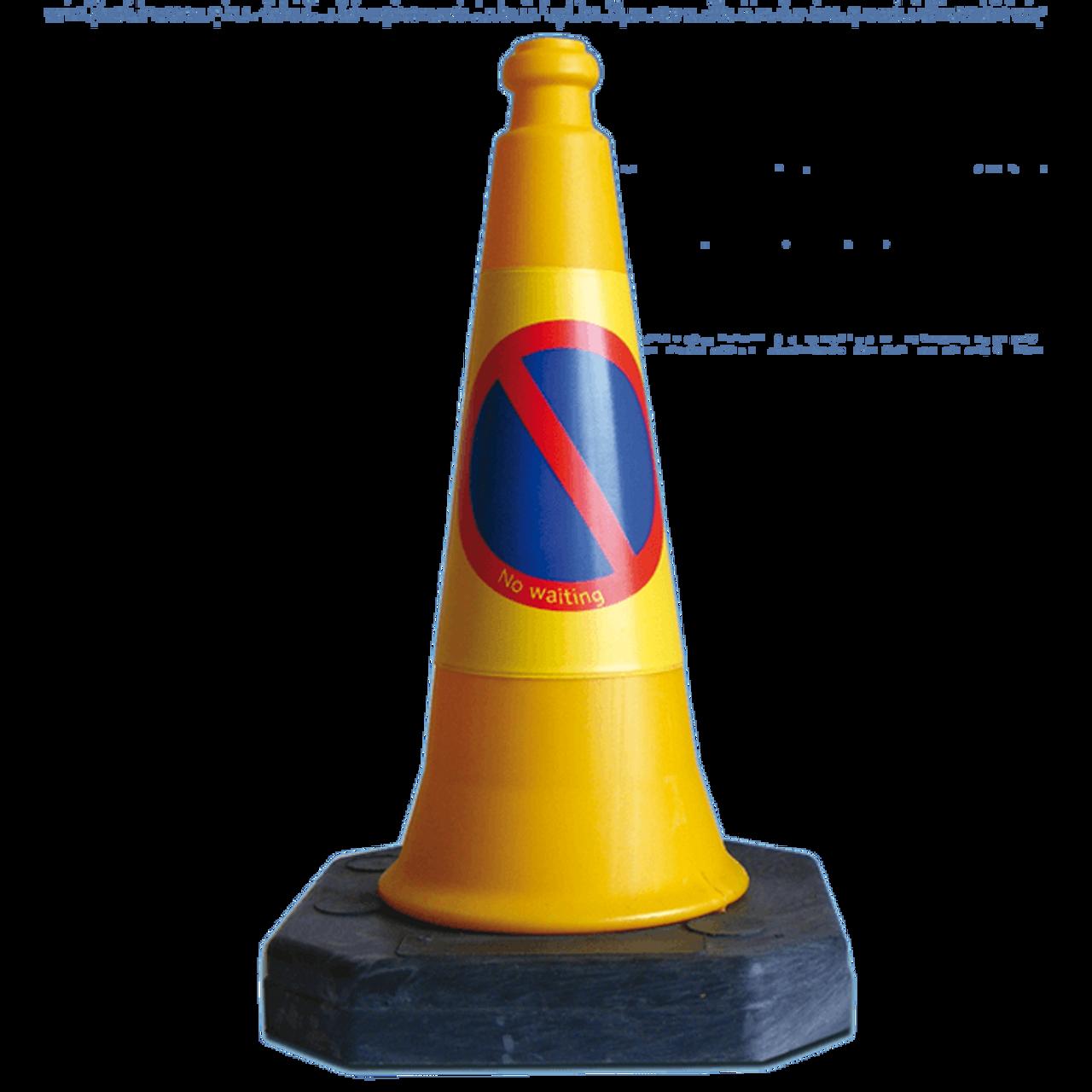 Mastercone 50cm No Waiting traffic cones