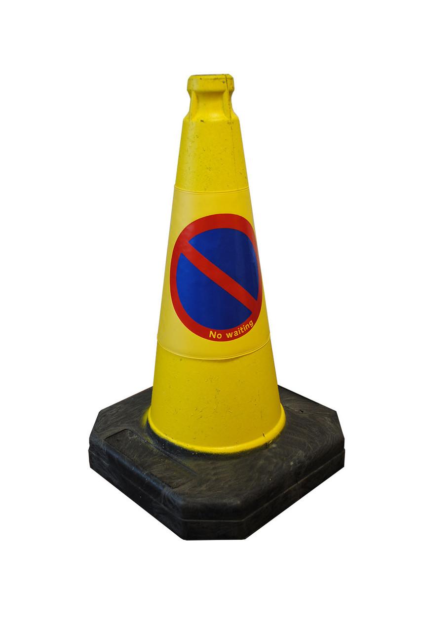 50cm MPL No Waiting Road Traffic Cone