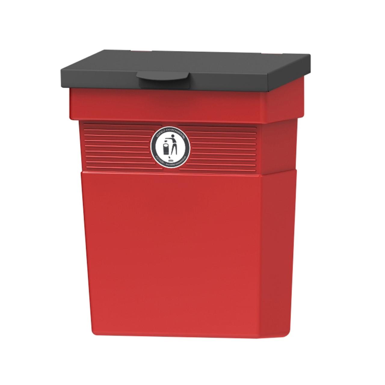 Regent dog waste bin 30 Litre metal lid