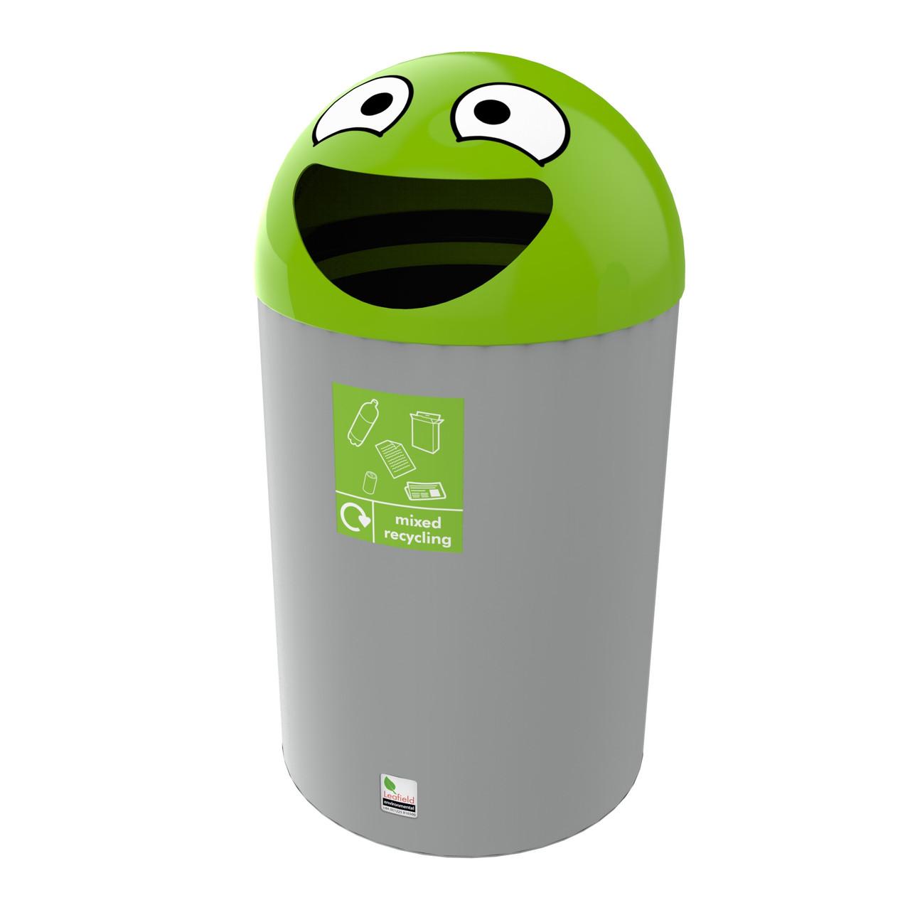 Novelty Buddy Litter Bin 75 Litre general waste recycling