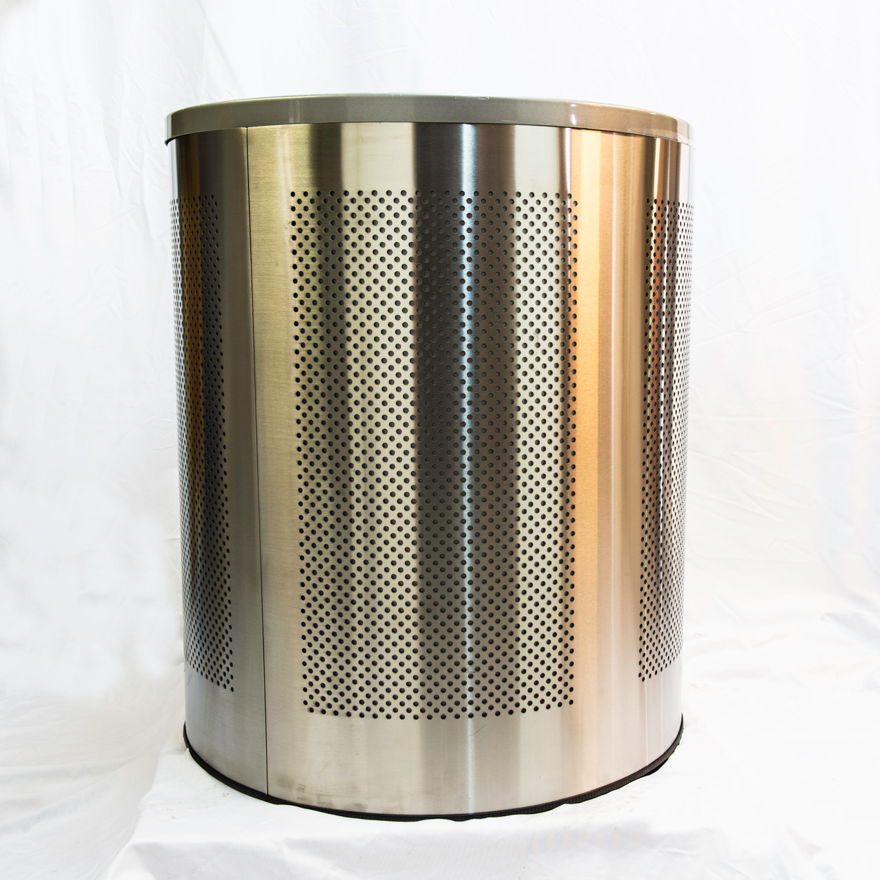 TC95 stainless steel metal blast resistant litter bin