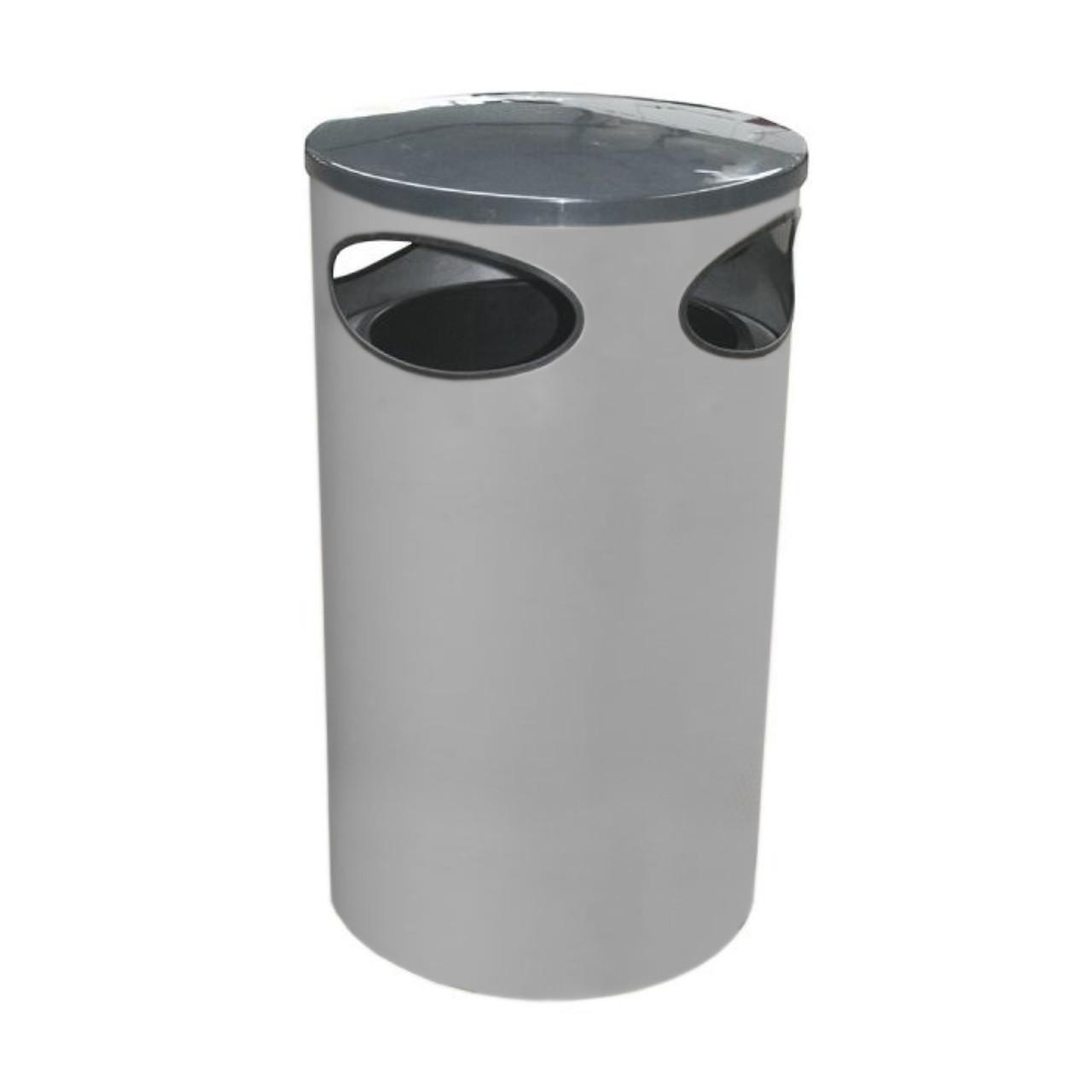 Halo 80 litre blast resistant limited aperture litter bin