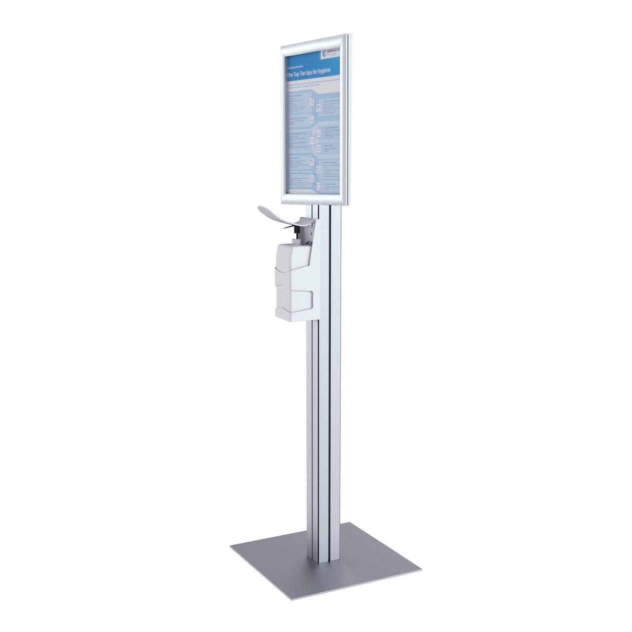 FS150 Sterimax Freestanding Modular Hand Sanitiser Dispenser