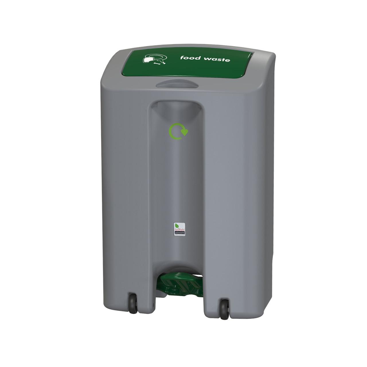 EnviroStep Peddle Recycling Litter Bin 65 Litre