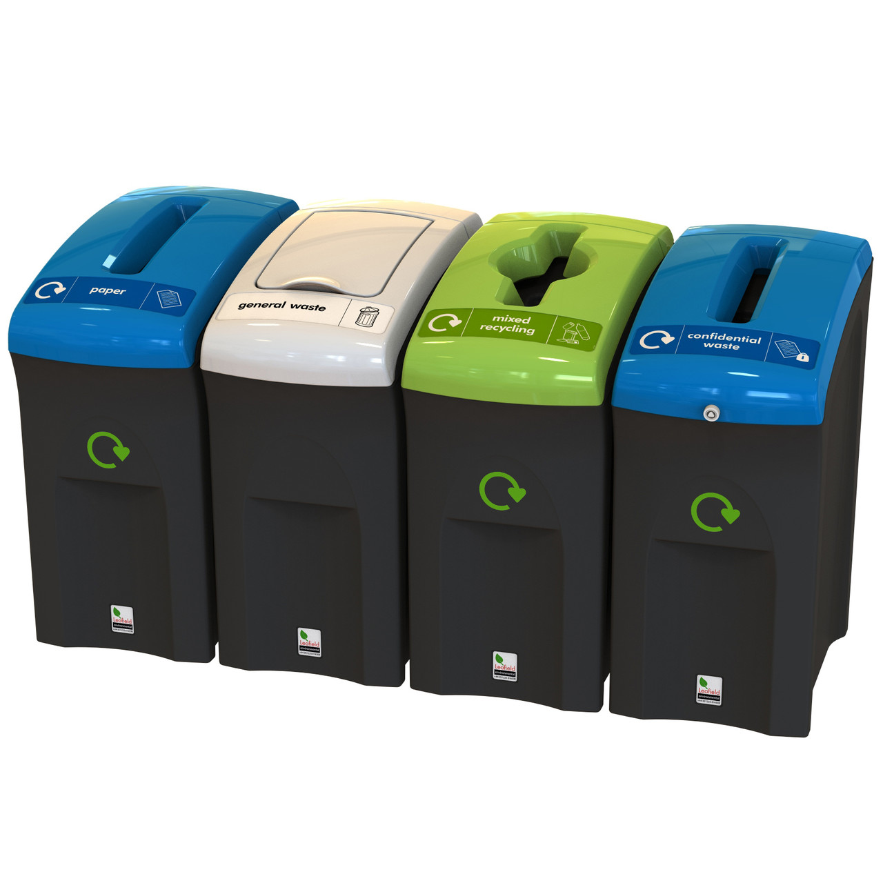 EnviroBin Mini Recycling Litter Bin 55 Litre