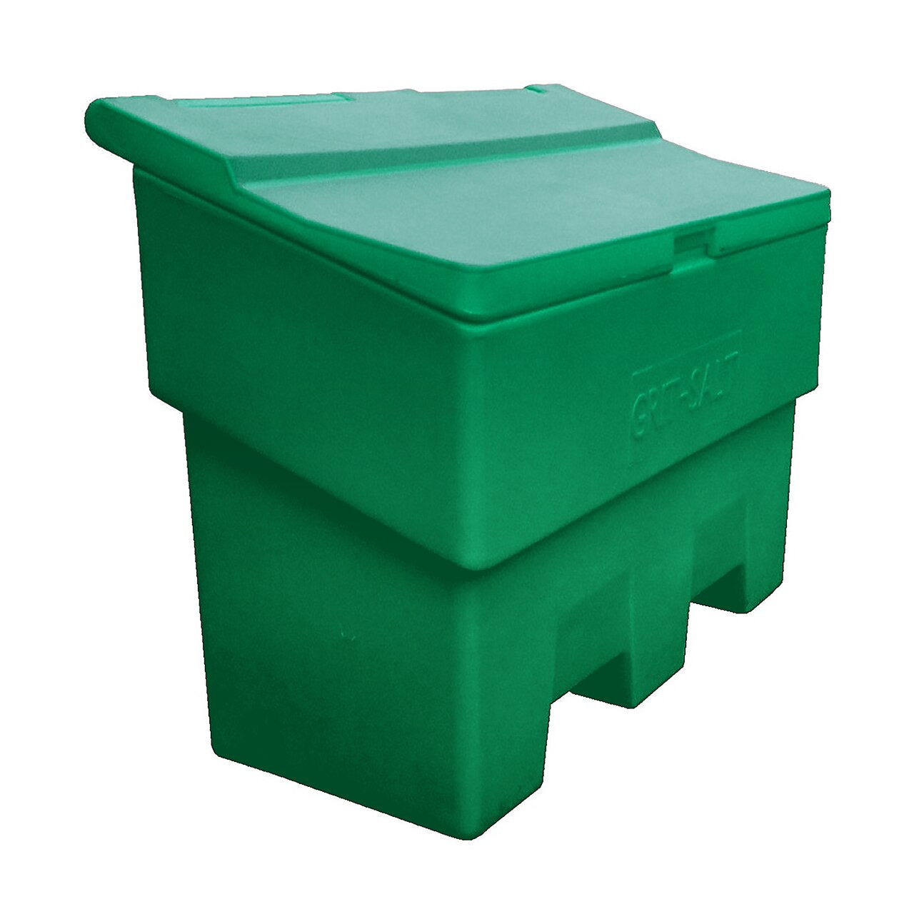 Green 340 Litre grit salt bin box