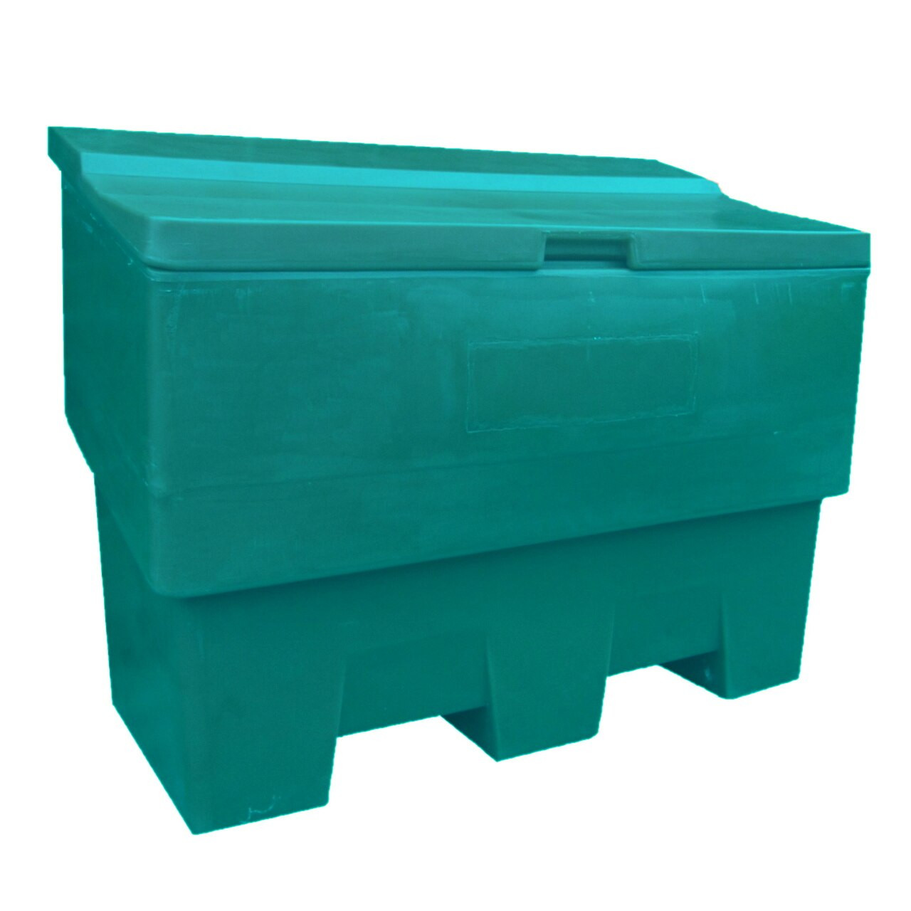 Green 285 Litre outdoor storage box