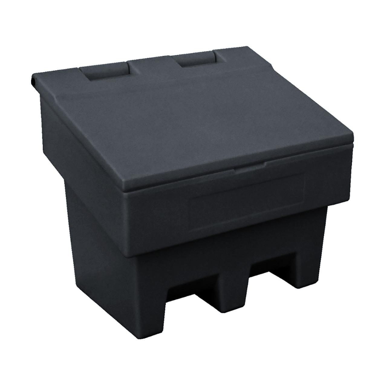 100 Litre / 125 kg  lidded coal storage box